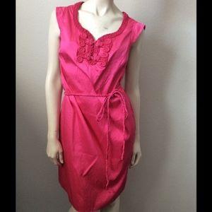 Calypso Pink Sister Tunic Dress